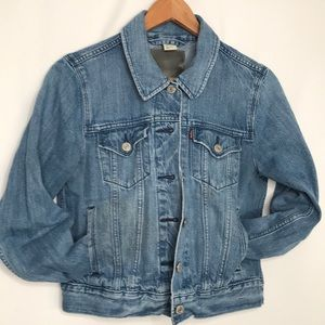 Levi's Jean Jacket Lightweight Size Medium